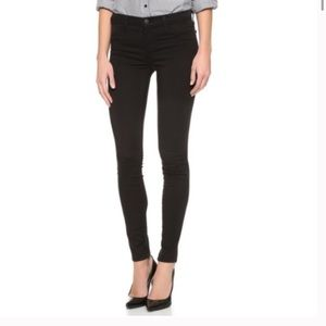 J Brand Hewson Black Skinny Jeans